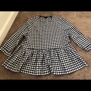 Checkered Blouse!